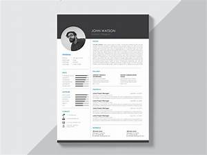 Free Black And White Curriculum Vitae Template With Modern