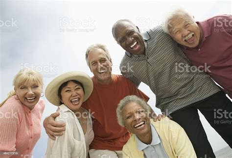 Group Of Friends Laughing Stock Photo - Download Image Now ...
