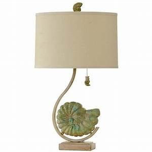 Coastal Shell Table Lamp
