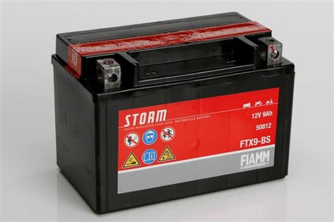 Fiamm Ftx9-bs 12v 9ah Motorbike Battery