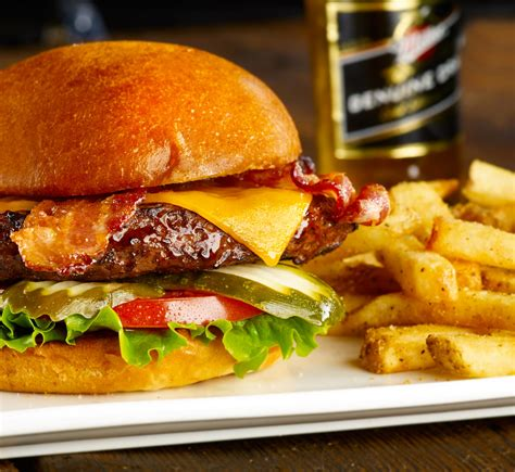 Food and Beverage Photography | Cheese Burger Millers Ale ...