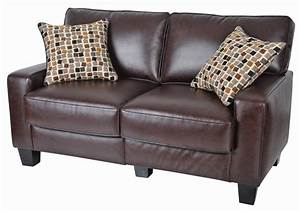 brown leather couch With dark brown leather sofa bed