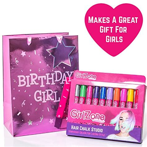top gifts for girls age 6 8 hair chalks birthday gift 10 colorful hair chalk pens temporary color for for all ages