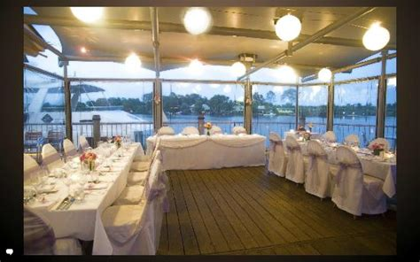 River Deck Philadelphia Menu by A Small Wedding Setup On Our Quarter Deck Picture Of
