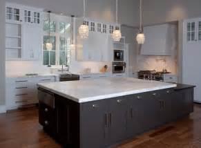 kitchen island with granite countertop artisan collection granite island in calacatta gold marble contemporary kitchen