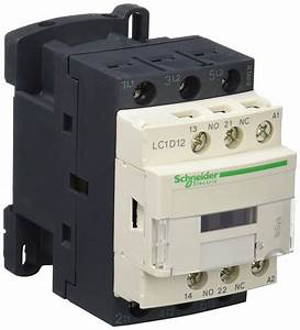 Schneider Electric Lc1d12 F7 Tesys D Contactor  3p  440v