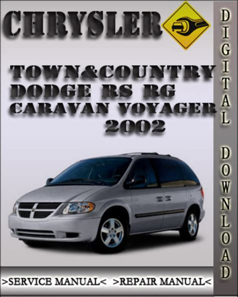 old car owners manuals 2001 dodge caravan electronic valve timing 2002 chrysler town country dodge rs rg caravan voyager factory serv