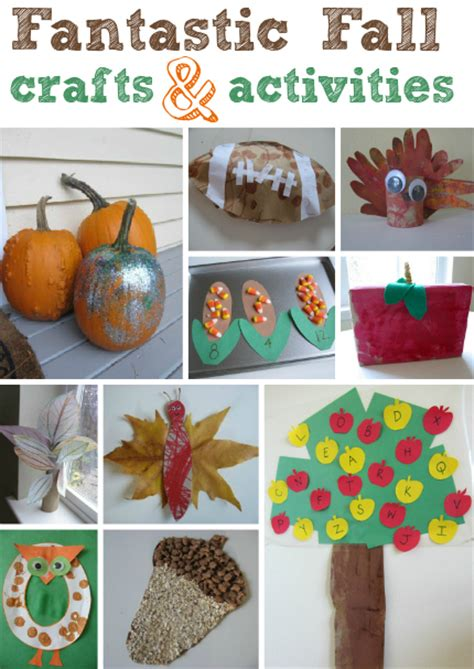 Fall Crafts For Kids No Time For Flash Cards   Autos Post