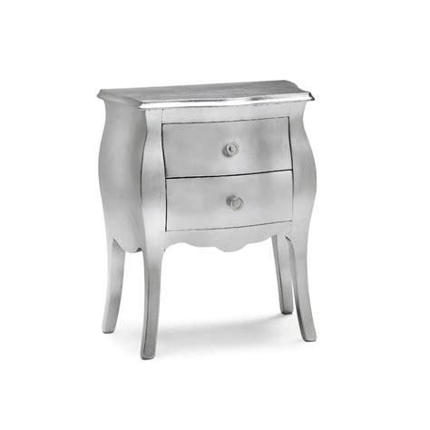 Comodino Argento comodino color argento