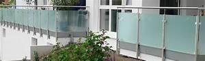 Geländer Edelstahl Preise : gel nder mit geschlossener f llung aus z b glas metall und holz u a kolb und appel ~ Frokenaadalensverden.com Haus und Dekorationen