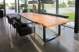 Tisch Aus Kauriholz Gauss Mbel Aus Massivholz