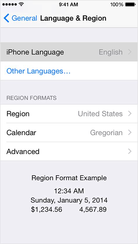 how to change the language on iphone change the language on your iphone or ipod touch