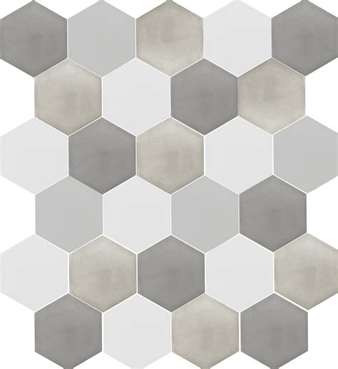 gray hexagon tile we re vexed by hex s grey cement hexagon tile cement gray and bath