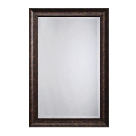 yosemite home decor mirror frame in dark bronze color mint015 the home depot