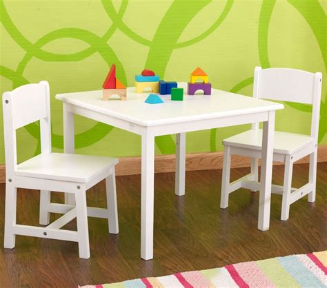dreamfurniture aspen table and chair set white