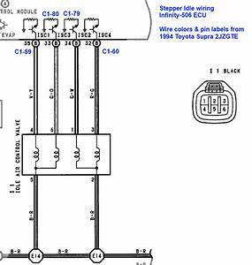 Stepper Idle Wiring Question   2jz
