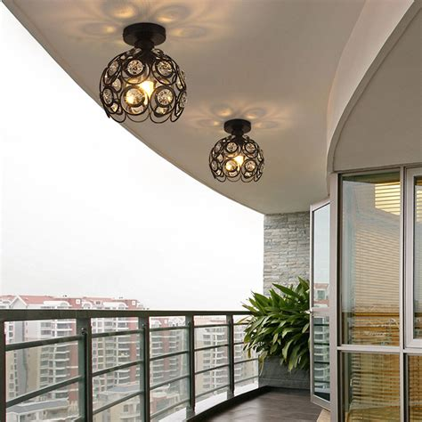 Contemporary Ceiling Lights Kitchen Fixture Semi Flush