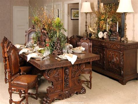 antique dining room tables for antique dining room furniture marceladick 9025