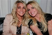 Irmã de Britney Spears se casa e emociona a cantora   OFuxico