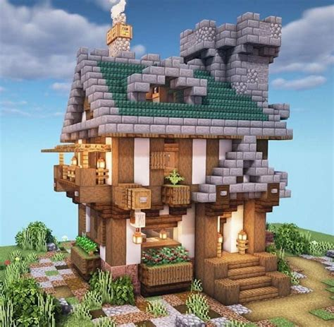 likes  comments minecraft house build atminecrafthouse  instagram
