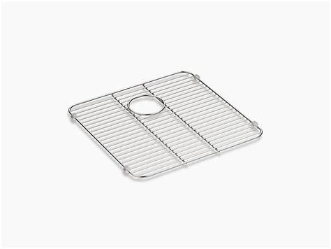 kohler metal sink protector k 5184 iron tones sink rack kohler