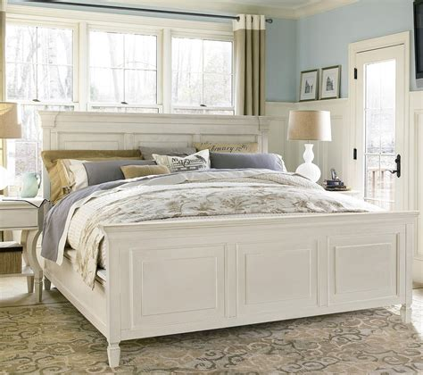 Bed Frame For Size Bed by Country Chic White Size Bed Frame As Seen On Hgtv