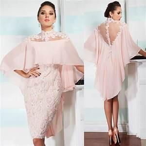 aliexpresscom buy 2017 women knee length for plus size With plus size wedding reception dresses