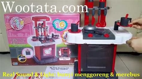 Jual Mainan Kitchen Set Anak Termurah Cooking Kit Playset