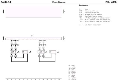 2004 audi a4 stereo wiring diagram html imageresizertool