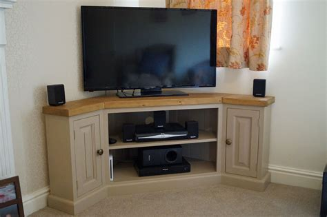 reclaimed edwardian corner tv unit bespoke corner tv unit