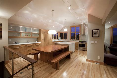 kitchen floor cabinets college hill remodel contemporary kitchen portland 1621