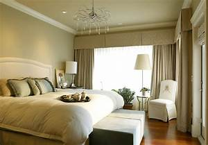 Modern bedroom custom curtains picture 3D house, Free 3D