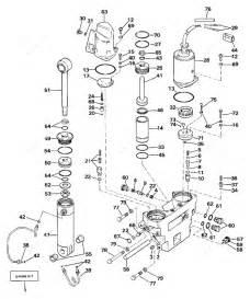 Evinrude 1990 150  Tilt Hydraulic