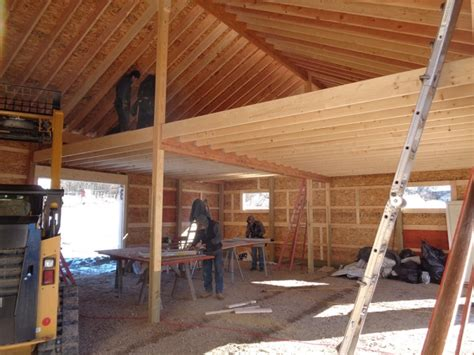 a frame cabin plans free 30 x 40 x 12 loft michigan loft barn construction