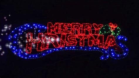 merry christmas lighted sign light merry christmas sign youtube dma homes 2408