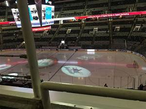 Sap Center Section 213 Row 1 Seat 17 San Jose Sharks