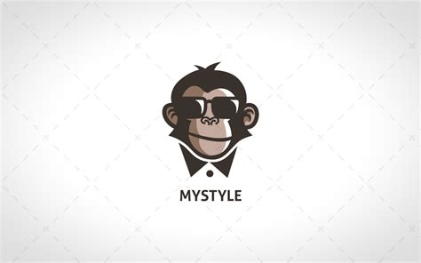 Super Cool And Stylish Monkey Logo For Sale  Lobotz. Role Stickers. Ortho Banners. Photo Shoot Banners. Water Bottle Decals. Wait Signs. Happy Bday Banners. Sculpture Murals. 11 Week Signs
