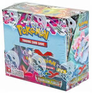 pokemon phantom forces booster 6 box case