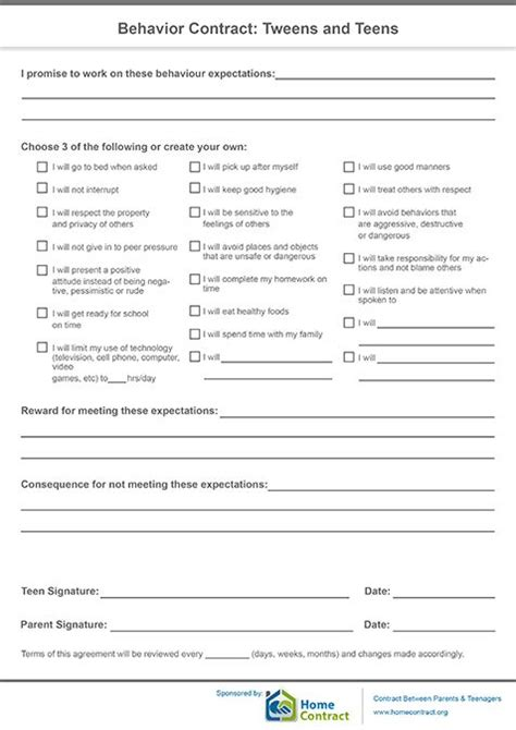 behavior contract template for adults 25 best ideas about behavior contract on classroom behavior plans classroom