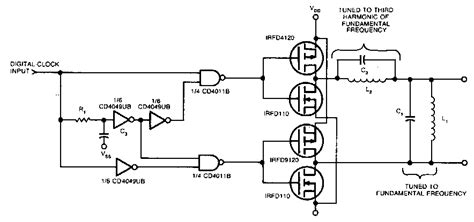 Square Sine Wave Converter Circuit Diagram
