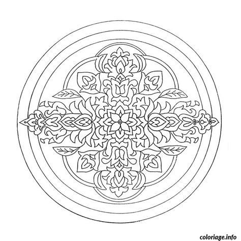 coloriage mandala cm dessin