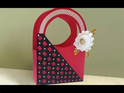easy cute diy paper gift bag making  home summer