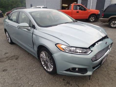 Buy Used 2014 Ford Fusion Se Hybrid, Non Salvage, Damaged