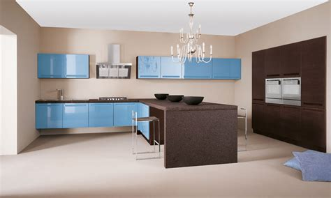 cuisine bleue une touche de bleu dans la cuisine inspiration cuisine
