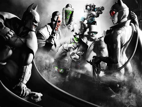 Comic World Batman Arkham City Wallpaper