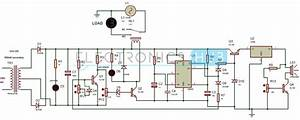High And Low Voltage Cutoff With Delay And Alarm Circuit