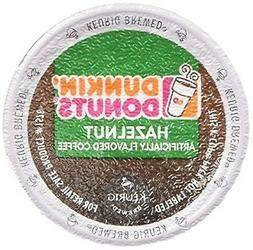 Experience this amazing dunkin' donuts coffee perfectly accented with hazelnut flavor directly from your singe serve brewer. Dunkin Donuts K-cups Hazelnut - 96 Count