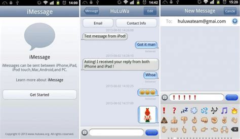 imessage android unofficial imessage app for android surfaces in