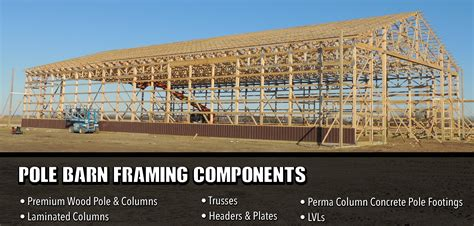 northridgecss pole barn framing components