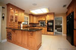 peninsula kitchen ideas pictures of kitchens traditional light wood kitchen cabinets page 6